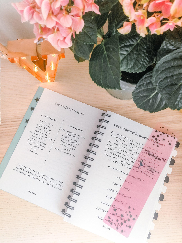 Planner per blogger Valentina Carbone